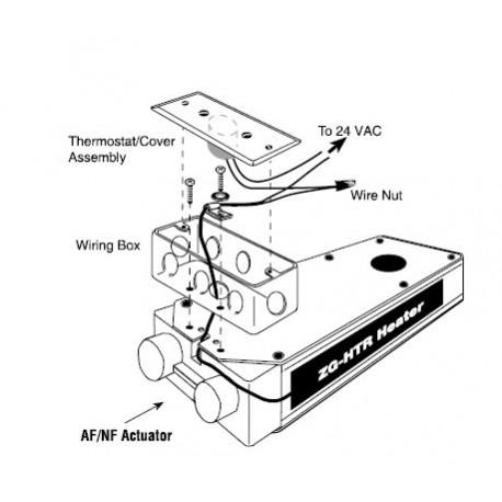ZG-HTR - Thermostat Heater Kit