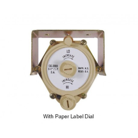 "CSC-2003 - 0 to 1"" range for NO Damper & DA Thermostat"