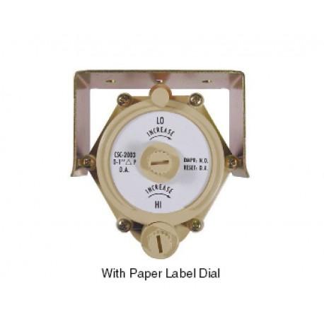 "CSC-2007 - 0 to 1"" range for NO Damper & DA Thermostat"