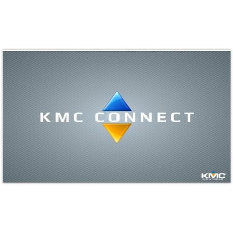 Connect-BAC: Logiciel  KMC Connect, BACnet seulement