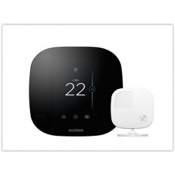 Ecobee 3 The smarter wi-fi thermostat with remote sensor.