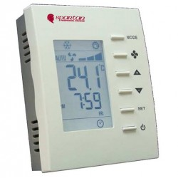 TE256 Modulating Programmable Digital Temperature Controller with P+I Heating/ Cooling Control with ECM Variable Airflow Fan