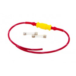 Inline Mini Fuse Holder with 1 AMP Fuses