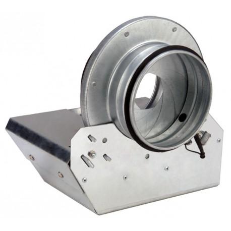 "IRIS-PS-10 Galvanized Positive Seal Damper, 10"""