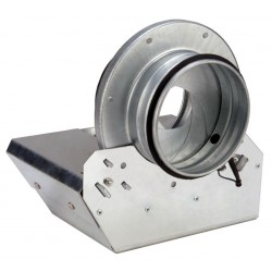 IRIS-PS-12 Galvanized Positive Seal Damper, 12""