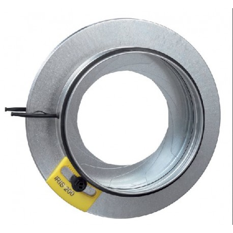 "IRISS-20 Stainless Steel Damper, 20"""